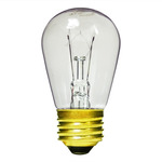 11 Watt - S14 - 130 Volt - 5,000 Life Hours - Medium Base - Sign Light Bulb - Halco 9051 S14 Sign Bulb