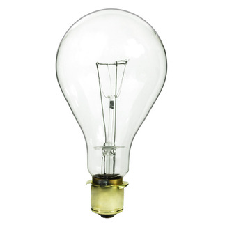 620 Watt - PS40 - 130 Volt - 3,000 Life Hours - Mogul Prefocus Base - Code Beacon Incandescent Light Bulb - 620PS40P/CL/130V Standard Light Bulb - Code Beacon Bulb