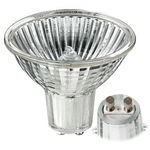 20 Watt - MR16 - 12 Volt - GU7 Base - BAB Medium Flood - Glass Face - Halogen Light Bulb