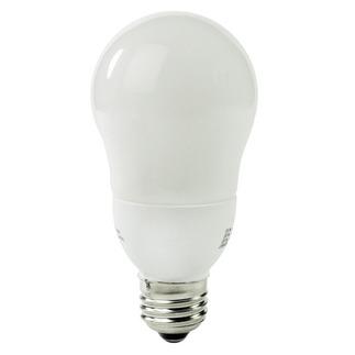 Satco S7283 - 7 Watt - A-Shape CFL - 40 W Equal