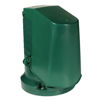 Intermatic WP2000 - Weatherproof Receptacle Cover - Flexi-Guard Outlet Post - Single Gang - Green