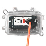 Intermatic WP1110C - Weatherproof Receptacle Cover - Single Gang - Clear - 3-5/8 in. Depth