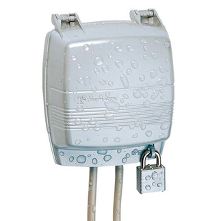 Intermatic WP1030MC - Weatherproof Receptacle Cover - Two Gang or Single Gang - Die Cast Metal - 3-1/8 in. Depth