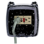 Intermatic WP1020C - Weatherproof Receptacle Cover - Two Gang or Single Gang - Clear - 2-1/4 in. Depth