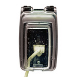 Intermatic WP1010C - Weatherproof Receptacle Cover - Single Gang - Clear - 3-1/8 in. Depth