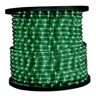 Green Incandescent Rope Light