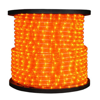 Incandescent - Amber - Rope Light - 1/2 in. - 12V