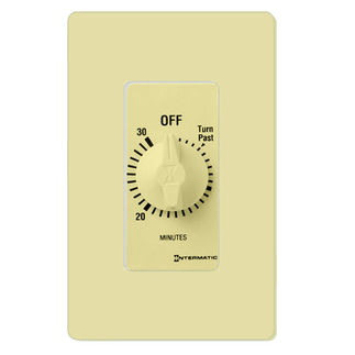 Intermatic FD30MC - Spring Wound Auto-Off Timer - 30 Min Time Cycle - SPST - Ivory