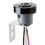 Intermatic K122 - Locking-Type Photo Controls Accessory - Pole Bracket Adapter - 105-480 Volt