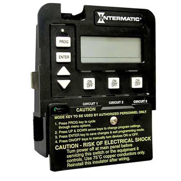 Intermatic P1353me Pool Spa 3 Circuit Clock