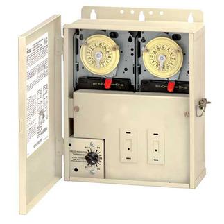Intermatic Pf1202t Dual Timer Freeze Control Beige