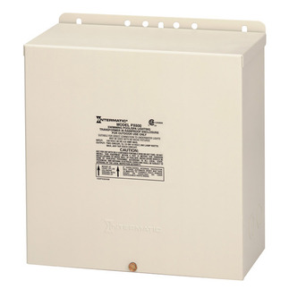 Intermatic PX600 - Low Voltage Safety Transformer - 600 Watt - Steel - Beige Finish