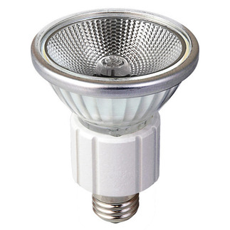 75 Watt - MR16 - 120 Volt - Narrow Flood  - Open Face - Halogen Light Bulb - Eiko 15102 75 Watt MR16 Intermediate Base - Stage and Studio