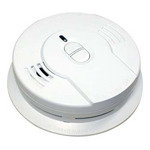 Smoke Alarm - Single Sensor - Detects Flaming Fires - Battery Operated - Sealed Lithium Battery - Kidde 0910