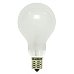40 Watt - A15 - Frosted - 130 Volt - 1,500 Life Hours - Appliance and Ceiling Fan Bulb - Intermediate Base - PQB L2714