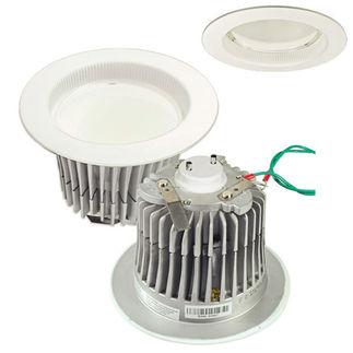 Cree LR6C-GU24 - GU24 Base - 650 Lumens - 12 Watt - LED - Halogen White - 92 CRI - Dimmable - Fits 6 in. Can Fixtures