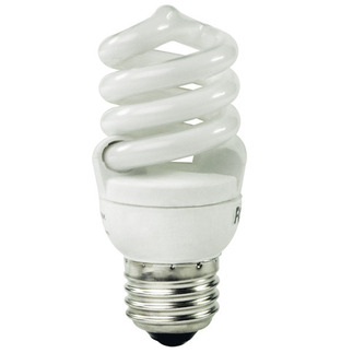 15 Watt - CFL - 60 W Equal - 5000K Full Spectrum - Min. Start Temp. 5 Deg. F - 82 CRI - 60 Lumens per Watt - 15 Month Warranty - Litetronics Neolite NL-15450 Screw In CFL