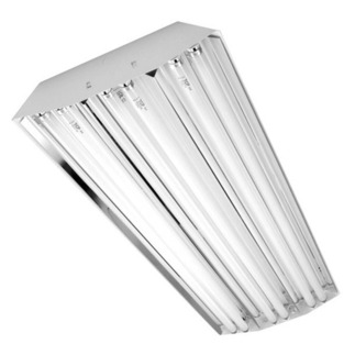 F32T8 - 4 ft. - Power Bay Fluorescent High Bay Fixture - 6 Lamp - 120 Volt - Normal Ballast Factor - 400 Watt HID Equal - 6 Lamp - Premium Quality Brand HBP632M23MV-H-LN741