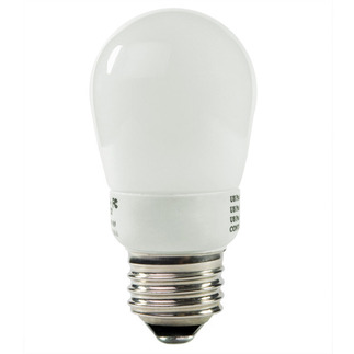 2 Watt - CFL - 11 W Equal - 2700K Warm White - Min. Start Temp. -20 Deg. F - 82 CRI - 40 Lumens per Watt - 24 Month Warranty - Litetronics MicroBrite MB-201 Screw In CFL