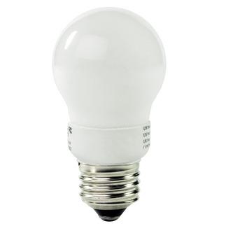 4 Watt - A-Shape CFL - 25 W Equal - 2700K Warm White - Min. Start Temp. -20 Deg. F - 82 CRI - 44 Lumens per Watt - 24 Month Warranty - Litetronics MicroBrite MB-401 Screw In CFL