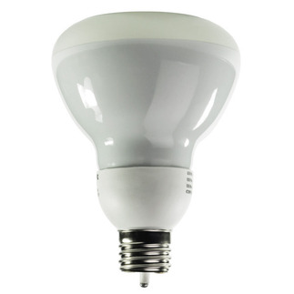 CCFL Bulb Dimmable - 8 Watt - R30 CCFL - 45 W Equal - 2850K Warm White - Min. Start Temp. 5 Deg. F - 82 CRI - 41 Lumens per Watt - 18,000 Life Hours - 24 Month Warranty - Litetronics MicroBrite MB-900DP