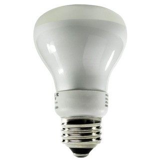 Dimmable - 5 Watt - R20 CCFL - 30 W Equal - 2250K Warm White - 82 CRI - 40 Lumens per Watt - 25,000 Life Hours - 24 Month Warranty - Litetronics MicroBrite MB-509DL Dimmable CFL CCFL Bulb