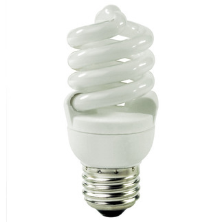 13 Watt - CFL - 60 W Equal - 5000K Full Spectrum - Min. Start Temp. 5 Deg. F - 82 CRI - 57 Lumens per Watt - 15 Month Warranty - Litetronics Neolite NL-13450 Screw In CFL