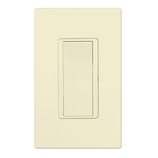 Lutron CA-3PSH-AL - Claro General Purpose Switch - Paddle Switch - 3-Way - 15 Amps - 120/277 Volt - Almond