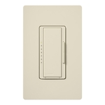 Lutron Maestro MA-600-LA - Multi-Location - Incandescent Smart Dimmer - Tap and Rocker Switch - 600 Watt - Light Almond
