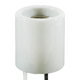 Mogul Base Socket - 12 in. Lead - No. 14 AWG - 200 Deg. C - 600V - 4000V Pulse Rated - Used with Standard Metal Halide - Pulse Start Metal Halide - High Pressure Sodium Lamps