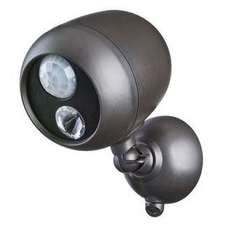 Mr Beams - Wireless LED Spotlight with Motion Sensor and Photocell - Weatherproof - Battery Powered - 140 Lumens