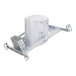 6 in. - 26-42W Sloped Ceiling Compact Fluorescent Housing - Electronic Ballast - Nora NHP-926/2642EL - Light Fixture