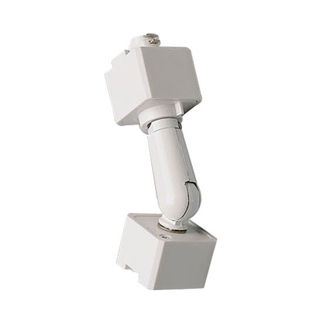 Nora NT-335W - White - Slope Adapter - Single or Dual Circuit - Compatible with Halo Track