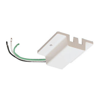White - Floating Canopy Feed - Dual Circuit - Compatible with Halo Track - Nora Lighting NT-2307W
