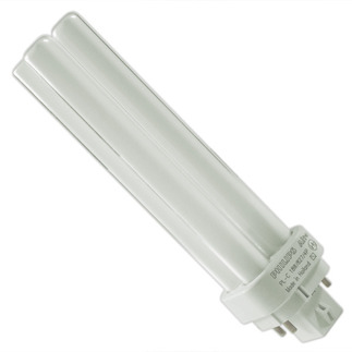 Philips 38329-9 - PL-C 18W/827/4P/ALTO - NAED 20683 - 18 Watt - 4 Pin G24q-2 Base - 2700K  - CFL Light Bulb plug in CFL