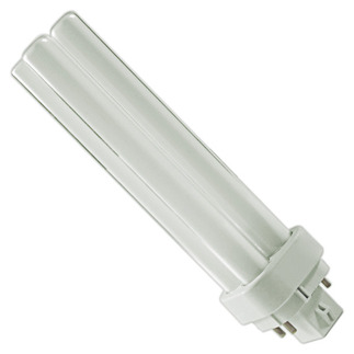 Philips 38332-3 - PL-C 18W/835/4P/ALTO - NAED 20672 - 18 Watt - 4 Pin G24q-2 Base - 3500K - CFL Light Bulb Plug In CFL