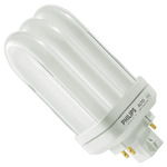 Philips 26802-9 - PL-T18W/830/4P/ALTO - NAED 20876 - 18 Watt - 4 Pin GX24q-2 Base - 3000K - CFL Light Bulb Plug In CFL