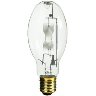 175 Watt - ED28 - Metal Halide - Unprotected Arc Tube - 4000K - Mogul Base - ANSI M57/E - Universal Burn - Philips 28733-4 ED28 Metal Halide