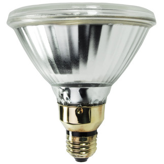 100 Watt - PAR38 Flood - Pulse Start - Metal Halide - 3500K - Medium Base - ANSI M90/O - Universal Burn - Plusrite 1063 PAR38 Pulse Start Metal Halide