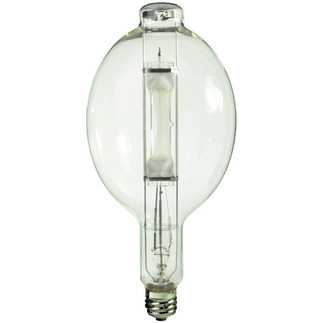 1000 Watt - BT56 - Metal Halide - Unprotected Arc Tube - 4200K - ANSI M47/E - Universal Burn - MH1000/BT56/U/4K - Plusrite 1029 BT56 Metal Halide
