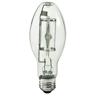 150 Watt - ED17 - Pulse Start - Metal Halide - Protected Arc Tube - 4200K - Medium Base - ANSI M102/O - Universal Burn - Plusrite 1037 ED17 Metal Halide