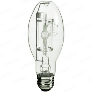 70 Watt - ED17-P - Pulse Start - Metal Halide - Protected Arc Tube - 4200K - Medium Base - ANSI M98/O - Universal Burn - MP70/ED17/U/4K - Plusrite 1033 ED17-P Metal Halide