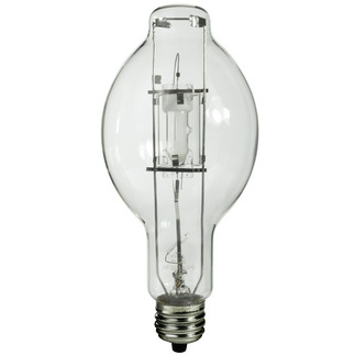 400 Watt - BT37 - Metal Halide - Protected Arc Tube - 4200K - ANSI M59/O - Base Up Burn - MP400/BT37/BU/4K - Plusrite 1042 BT37 Metal Halide