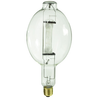1000 Watt - BT56-P - Pulse Start - Metal Halide - Protected Arc Tube - 4200K - Mogul Base - ANSI M141/O - Base Up Burn - Plusrite 1524 BT56-P Metal Halide