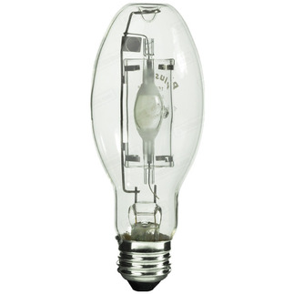 175 Watt - ED17-P - Pulse Start - Metal Halide - Protected Arc Tube - 4200K - Medium Base - ANSI M152/O or M137/O - Universal Burn - Plusrite 1603 ED17-P Metal Halide