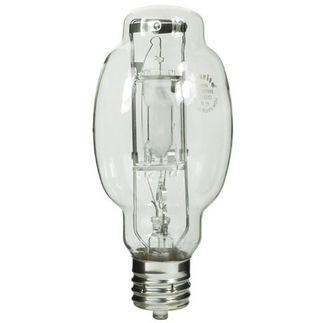 Plusrite 1619 - 350 Watt - BT28-P - Pulse Start - Metal Halide - Protected Arc Tube - 4200K - Mogul Base - ANSI M131/O or M135/O or M155/O - Base Up Burn - MP350/ED28/PS/BU/4K- Plusrite 1619