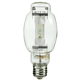 350 Watt - BT28 - Pulse Start - Metal Halide - Unprotected Arc Tube - 4200K - Mogul Base - ANSI M131/E - Base Up Burn - Plusrite 1584 BT28 Metal Halide