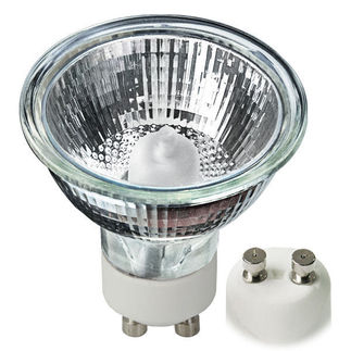 35 Watt - MR16 - Frosted - 120 Volt - GU10 Base - Higuchi JDR-9817FP MR 16 Halogen