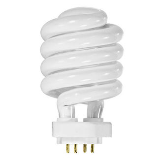 32 Watt - 125 W Equal - Full Spectrum 5100K - CFL - TCX Base - TCP 35032