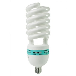 105 Watt - CFL - 420 W Equal - 4100K Cool White - Min. Start Temp. 0 Deg. F - 82 CRI - 48 Lumens per Watt - 15 Month Warranty - Sunlite 5557 Screw In CFL